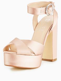 office-harley-satin-platform-sandal
