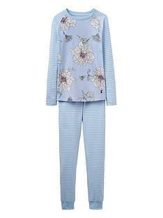 joules-girls-sleepwell-floral-pyjamas