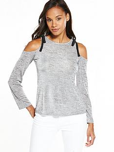 v-by-very-cold-shoulder-slinky-top-grey-marl