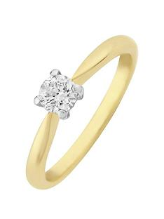 love-diamond-9ct-gold-30-points-diamond-solitaire-ring