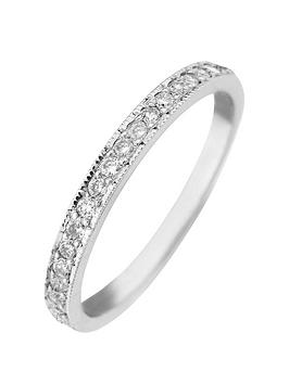 Love DIAMOND Love Diamond 9Ct Gold 25 Point Diamond Wedding Band Ring Picture