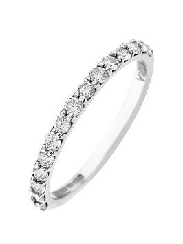 Love DIAMOND Love Diamond 9Ct Gold 50 Point Diamond Wedding Band Ring Picture