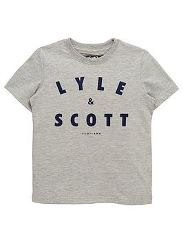 lyle-scott-boys-large-logo-t-shirt