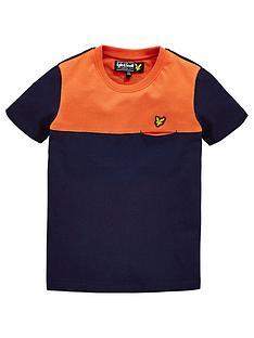 lyle-scott-boys-colour-block-pocket-t-shirt