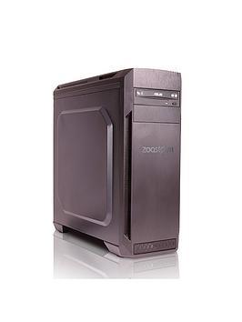 Zoostorm Voyager Desktop Pc  Intel&Reg Core&Trade I57400 Processor 8Gb Ram 1Tb Hdd Nvidia Gtx 1050 Ti Graphics DvdRw Wifi Windows 10 Home