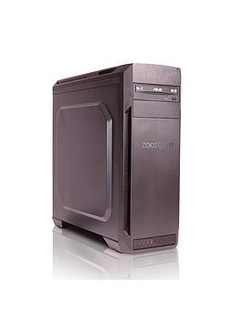 Zoostorm Voyager Desktop Pc  Intel&Reg Core&Trade I77700 Processor 8Gb Ram 1Tb Hdd Nvidia Gtx 1050 Ti Graphics DvdRw Wifi Windows 10 Home