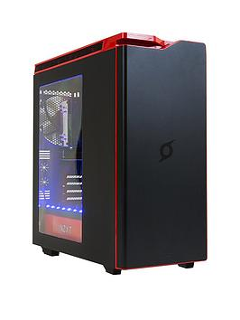 Zoostorm Stormforce Cyclone Gaming Pc  Intel&Reg Core&Trade I77700K Processor 16Gb Ram 3Tb Hdd 256Gb Ssd With Nvidia Gtx 1070 Graphics WiFi And Windows 10 Home