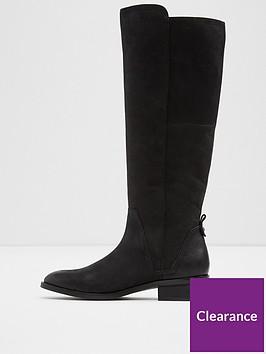aldo-aldo-mihaela-zip-detail-nubuck-knee-high-boot
