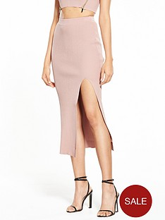 river-island-pink-knitted-skirt