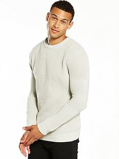 v-by-very-rib-textured-knitted-jumper