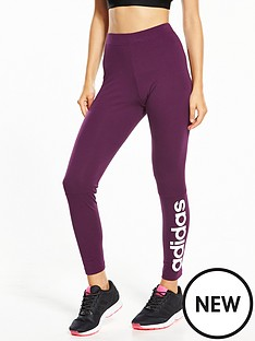 adidas-essentials-linearnbspleggings-cherrynbsp