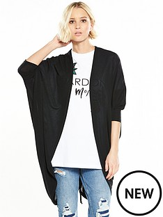 river-island-ruched-cardigan