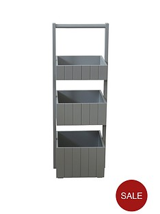 painted-three-tier-caddy-grey
