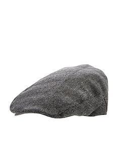 v-by-very-mens-herringbone-flat-cap