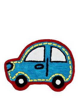 Catherine Lansfield Catherine Lansfield Transport Car-Shaped Rug Picture
