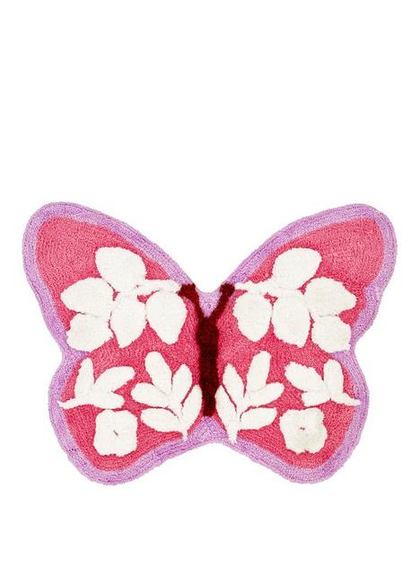 catherine-lansfield-butterfly-rug