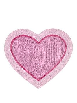 Catherine Lansfield   Heart Shaped Rug