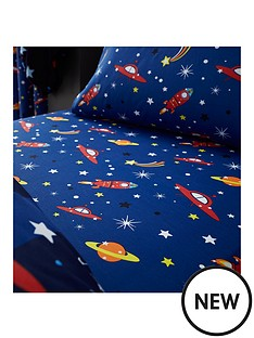 catherine-lansfield-outer-space-single-fitted-sheet