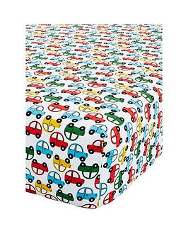 Catherine Lansfield Catherine Lansfield Transport Single Fitted Sheet Picture