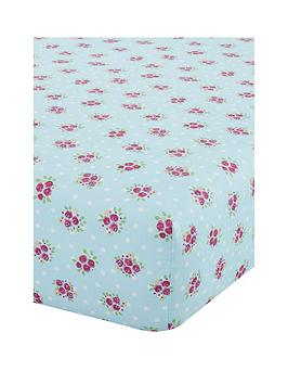 Catherine Lansfield Catherine Lansfield Fairies Double Fitted Sheet -  ... Picture