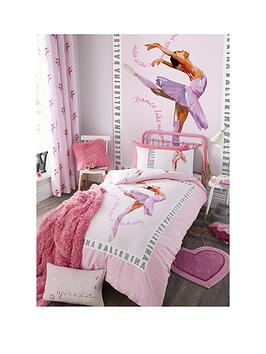 catherine-lansfield-ballerina-single-duvet-cover-set