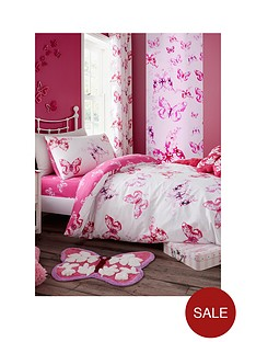 catherine-lansfield-butterfly-fitted-sheet