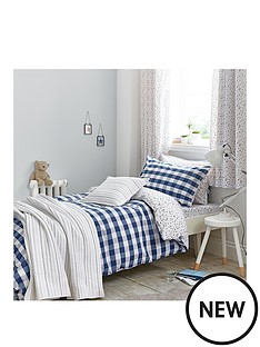 bianca-cottonsoft-bianca-cottonsoft-gingham-print-single-duvet-set