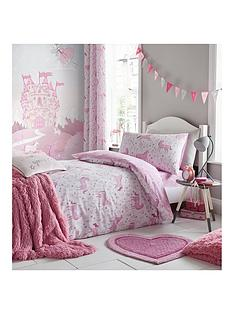 catherine-lansfield-folk-unicorn-eyelet-curtains