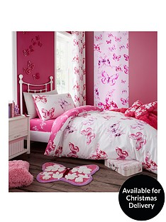 catherine-lansfield-butterfly-lined-curtains