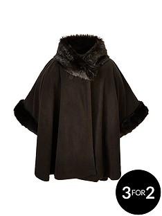 v-by-very-girls-fleece-faux-fur-trim-cape-8-14-years