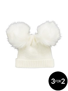 mini-v-by-very-baby-double-pom-pom-hat-3-12-mths