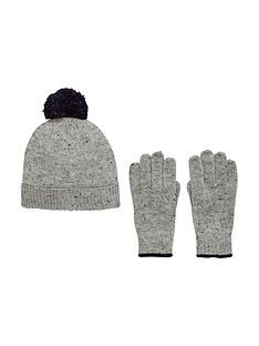 v-by-very-boys-knitted-bobble-hat-and-gloves-set-8-14-years-2-piece-grey