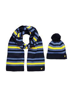 lyle-scott-lyle-amp-scott-boys-knitted-stripe-set