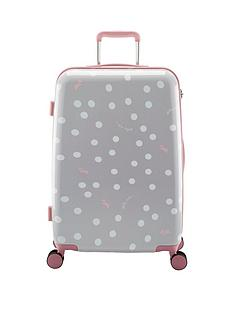 radley-vintage-dog-dot-grey-4-wheel-medium-case