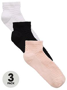 river-island-neutral-3-pack-ankle-sock