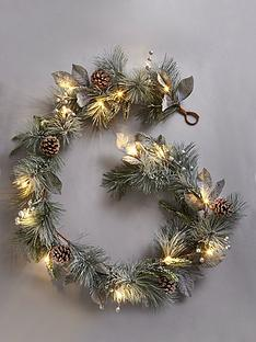 lit-cone-christmas-garland
