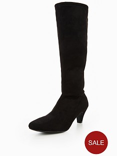 v-by-very-rhea-mid-heel-imi-suede-stretch-boot-black