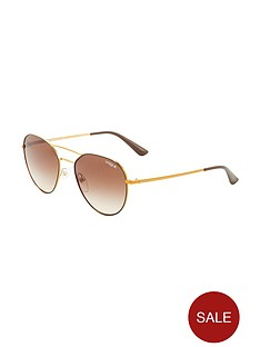 vogue-aviator-brow-bar-sunglasses--nbsporange