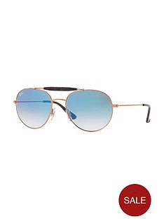 ray-ban-gradientnbsplens-aviatornbspsunglasses-blue