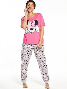 minnie-mouse-minnie-mouse-bow-pyjama-set