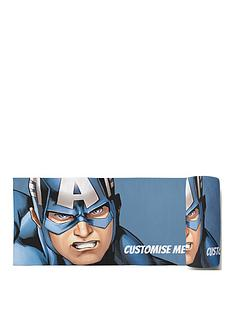 marvel-captain-america-personalised-beach-towel