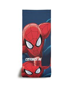 spiderman-personalised-beach-towel