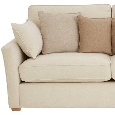 ideal home wilmslow 3 2 seater fabric sofa set buy and save