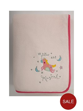 catherine-lansfield-magical-unicorn-cosy-throw