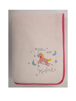 Catherine Lansfield Catherine Lansfield Magical Unicorn Cosy Throw Picture