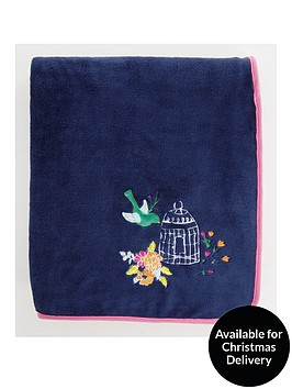 catherine-lansfield-floral-birdcage-cosy-throw