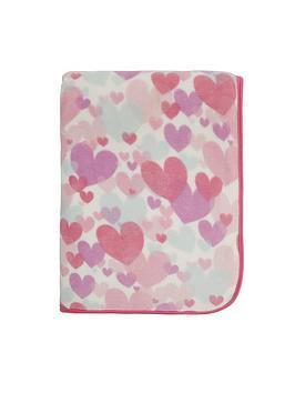 catherine-lansfield-pastel-hearts-cosy-throw