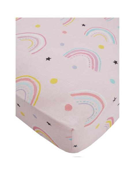 catherine-lansfield-magical-unicorns-cotton-rich-fitted-sheet-exclusive-to-us
