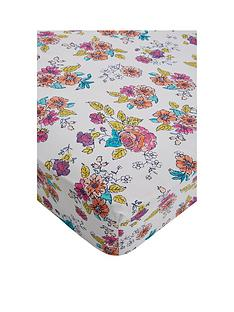 catherine-lansfield-floral-birdcage-single-fitted-sheet