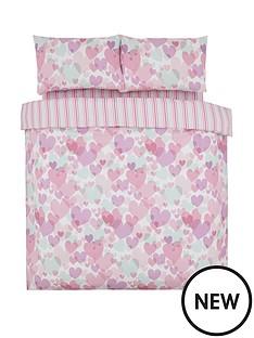 pastel-hearts-cotton-rich-double-duvet-set
